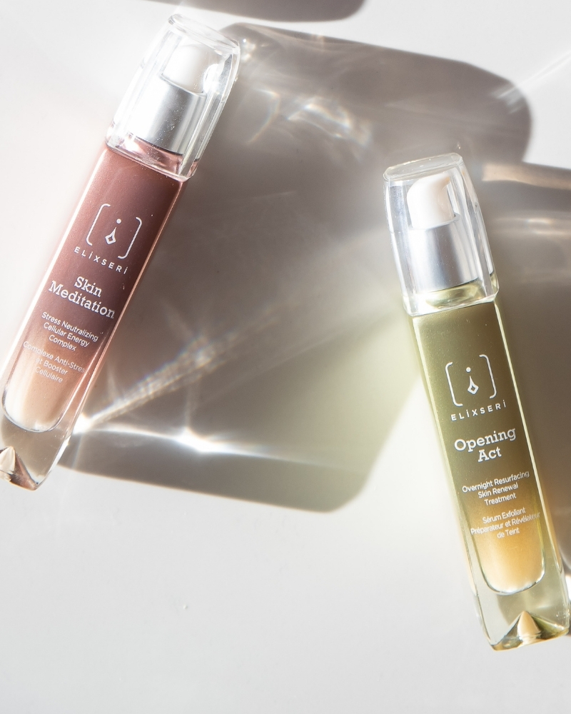 Elixseri's post summer cure includes two of the best serums to repair and renew skin over exposed to the sun and other external aggressions